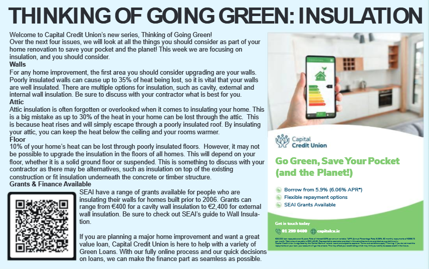 Thinking of Going Green? Think Insulation