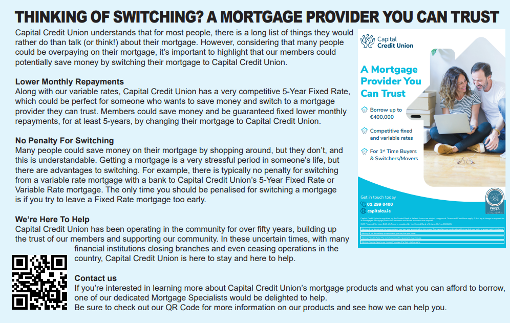 Thinking of Switching Your Mortgage?