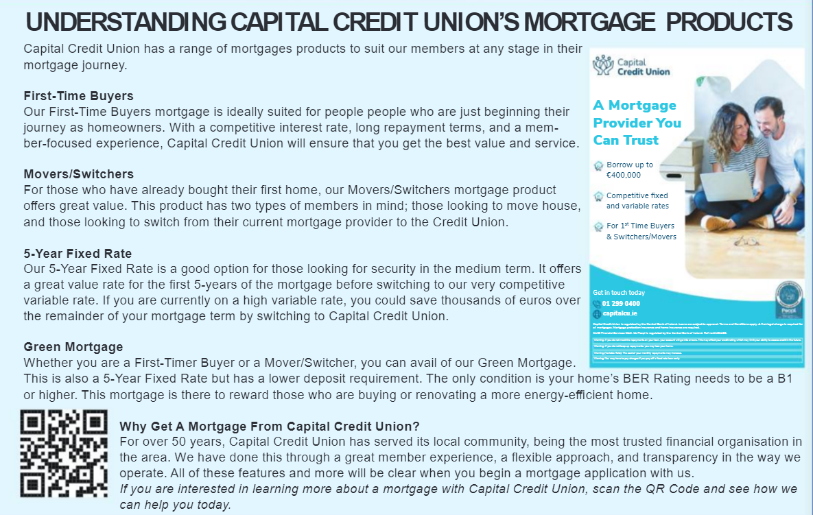 Understanding Capital Credit Union's Mortgage Products